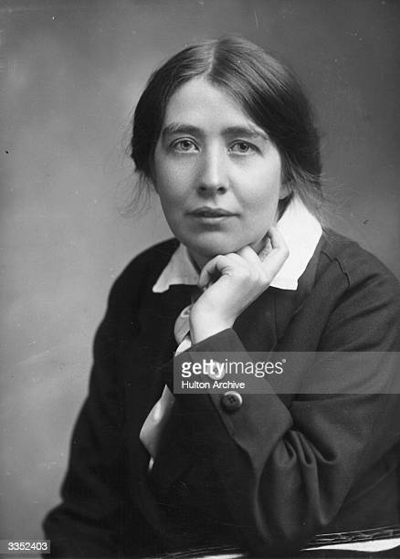 Sylvia Pankhurst daughter of the English suffragette Emmeline Pankhurst and founder of the Women's Social and Political Union Sylvia herself was an...