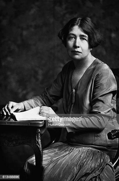 Sylvia Pankhurst the militant suffragette who campaigned with her mother Emmeline and sister Christabel for women's suffrage