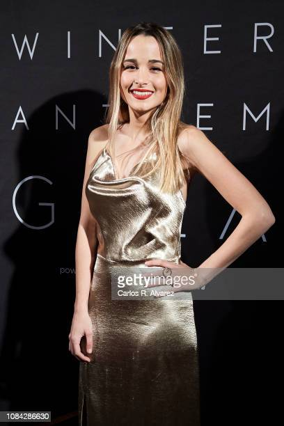 Sylvia Salas attends the Winter Anthem Gala photocall at Circulo de Bellas Artes on December 18 2018 in Madrid Spain