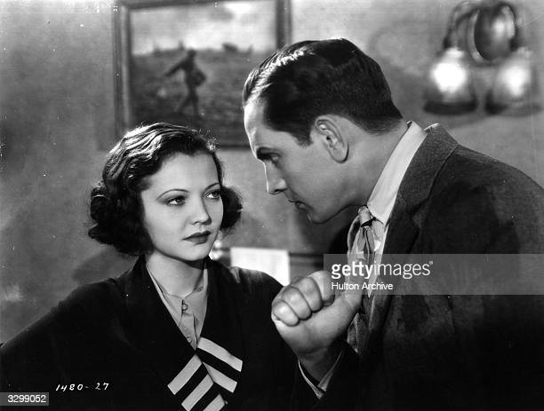 Sylvia Sidney and Fredric March star in the film 'Good Girl', in which a penniless chorus girl falls for a cardsharp. The film was directed by Marion...