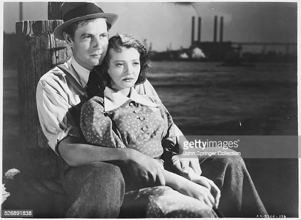 Sylvia Sidney and Joel McCrea in Dead End