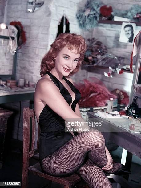 Sylvia Syms in publicity portrait, circa 1960.