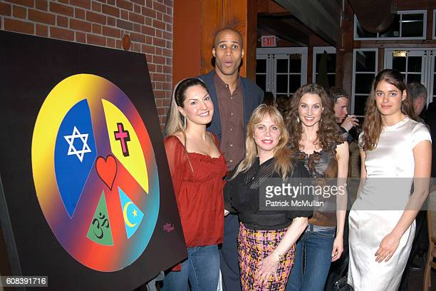 Sylvia Tosun Richard Jefferson Liz Derringer Alicia Minshew and Mahe Thorak attend Children of the City 3rd Annual Gala Helps South Brooklyn's Youth...