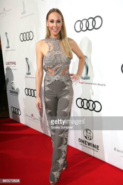 Sylvia Walker during the Audi Generation Award 2017 at Hotel Bayerischer Hof on December 13 2017 in Munich Germany