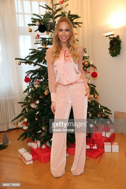 Sylvia Walker during the Happy Nikolaus event hosted by NICKI'Scom and Madame at Prisco Haus on December 5 2017 in Munich Germany