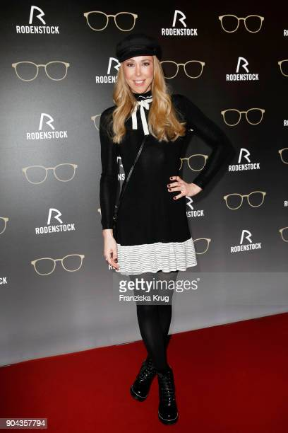 Sylvia Walker during the Rodenstock Eyewear Show on January 12 2018 in Munich Germany