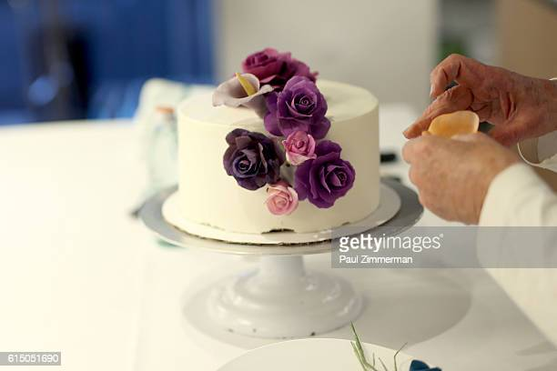 Sylvia Weinstock hosts Cake Decorating Master Class at Institute of Culinary Education on October 16 2016 in New York City