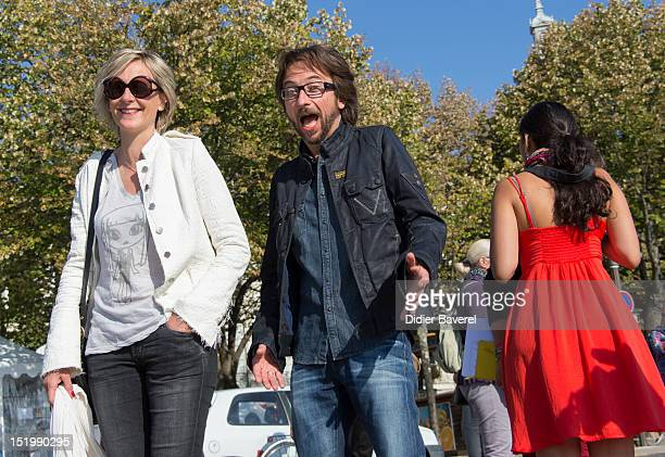 Sylvie Adigard and Alex Jaffray attends the La Rochelle Fiction Television Festival on September 14 2012 in La Rochelle France