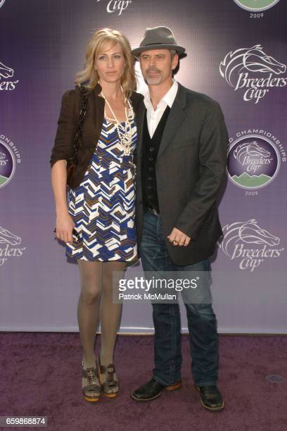 Sylvie Anderson and C Thomas Howell attend 26th RUNNING OF THE BREEDERS' CUP WORLD CHAMPIONSHIPS at Santa Anita Park on November 7 2009 in Arcadia CA