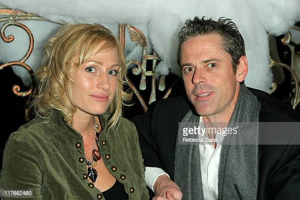 Sylvie Anderson and CT Howell during AFM Regent Entertainment Party at Venice Cantina in Venice California United States