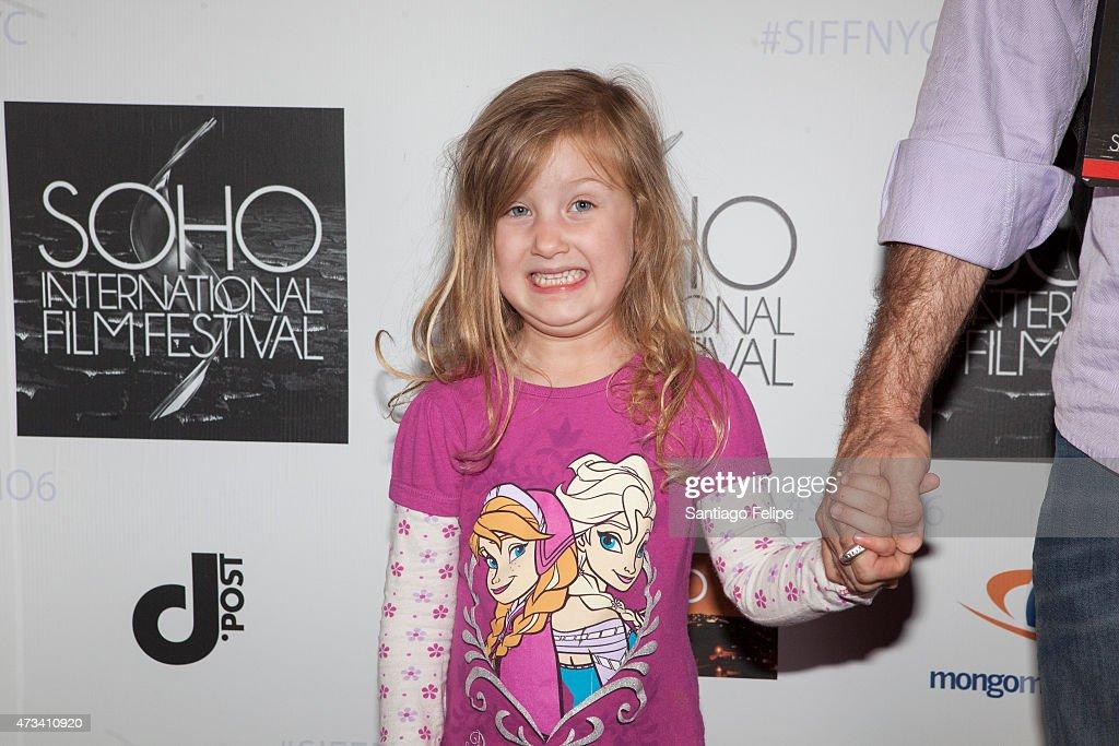 Sylvie Bellanca attends SOHO International Film Festival Film 2015 at Village East Cinema on May 14, 2015 in New York City.