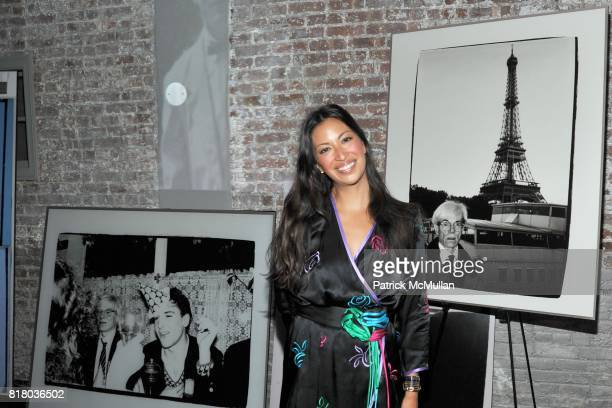Sylvie Cachay attends DOM PERIGNON PARTY To Close NY Fashion Week with a Tribute to Andy Warhol at Villa Pacri on September 16 2010 in New York City