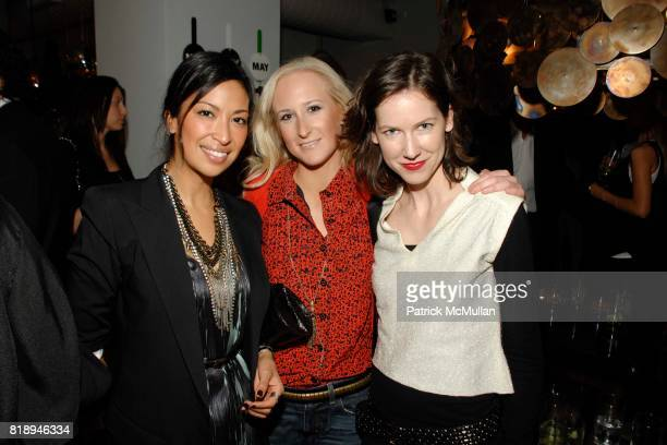 Sylvie Cachay Cinda Meclelland and Kristen Arnett attend PROPERTY 10 Years of Design Preview at Property on May 13 2010 in New York City