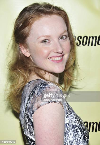 Sylvie Davidson attends the opening night party of OffBroadway's Lonesome Traveler at the Hudson Hotel on March 17 2015 in New York City