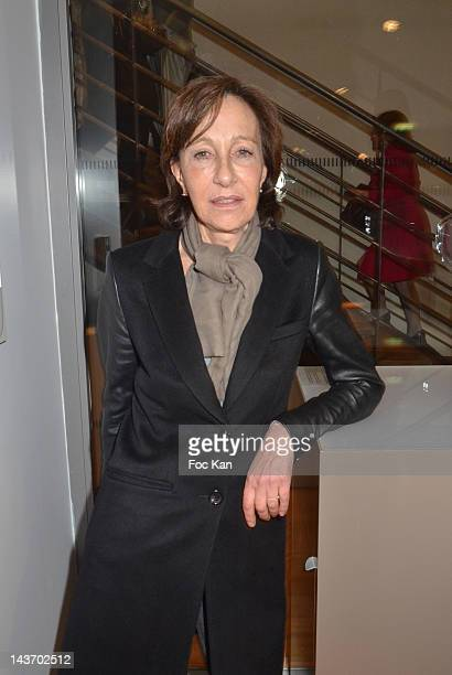 FRANCE MAY Sylvie de La Rochefoucauld attends the 'WAA/HH' Food Flavouring Spray By Philippe Starck and Patrick Edwards Launch Cocktail at Le...