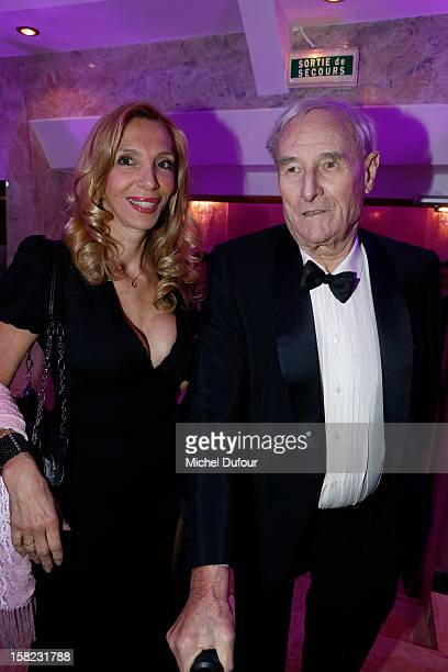 Sylvie Elias and Gerard De Villiers attend the The Bests Awards 2012 Ceremony at salons hoche on December 11 2012 in Paris France