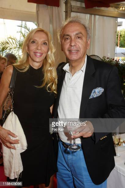 Sylvie Elias and Ismail attend The Children for Peace Auction Diner at Jardin des Tuileries on June 25 2019 in Paris France