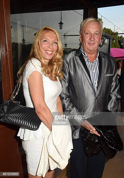 Sylvie Elias and Marc Lebessou attend 'Les Amis D'Ismail' Concert Dinner As Part Of Fete De La Musique At The Old Galion Boat In Paris on June 21...
