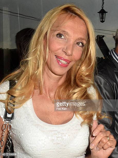 Sylvie Elias attends 'Les Amis D'Ismail' Concert Dinner As Part Of Fete De La Musique At The Old Galion Boat In Paris on June 21 2014 in Paris France