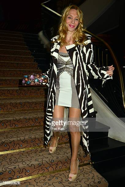 Sylvie Elias attends the Benefit Dinner For The 'Reconstruction Du Chateau De Saint Cloud' at Hotel Du Collectionneur Arc De Triomphe on June 1 2013...