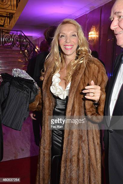 Sylvie Elias attends 'The Best' Awards 2014 Ceremony At Salons Hoche on December 15 2014 in Paris France