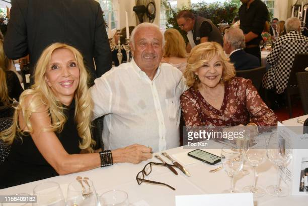 Sylvie Elias Marcel Campion and Nicoletta attend The Children for Peace Auction Diner at Jardin des Tuileries on June 25 2019 in Paris France