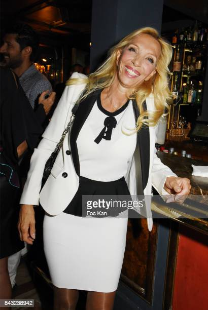 Sylvie Elias Marshall attends The Art De La Matiere AD Interieurs 2017 After Cocktail Dinner at La Perouse on September 5 2017 in Paris France