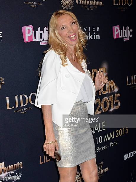 Sylvie Elias Marshall attends the Top Model Belgium 2015 Finale At Le Lido on May 10 2015 in Paris France