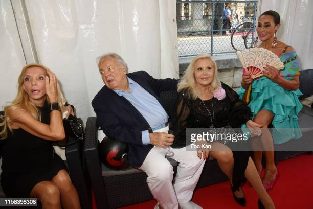 Sylvie Elias Massimo Gargia Michele Couturier and Regine Nahmani attend The Children for Peace Auction Diner at Jardin des Tuileries on June 25 2019...