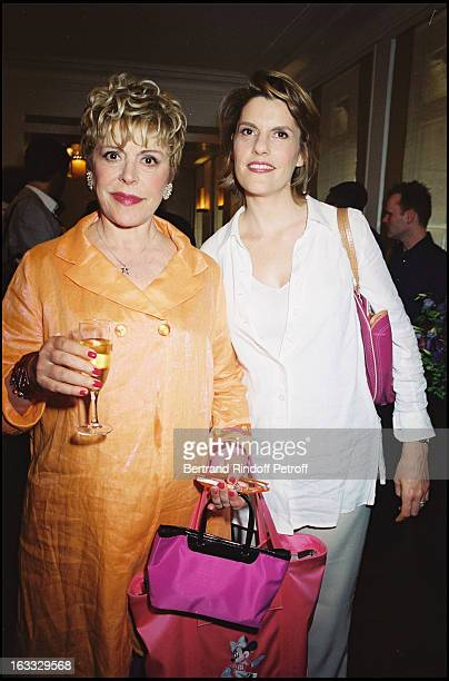 Sylvie Joly and daughter Mathilde Vitry at theNobu Opening At Rue Marbeuf In Paris 2001