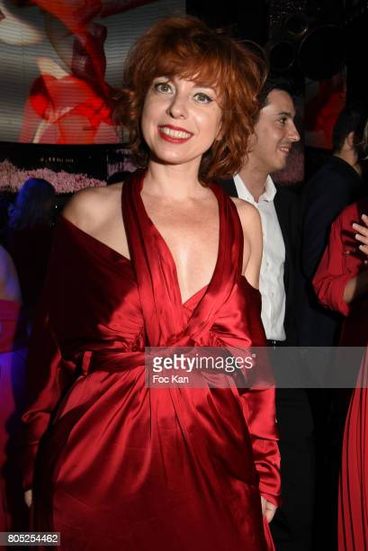 Sylvie Malyss dressed by Paule Ka attends the 'Red Defile' Auction Fashion Show Hosted by Ajila Association Association Against Women Heart Disease...