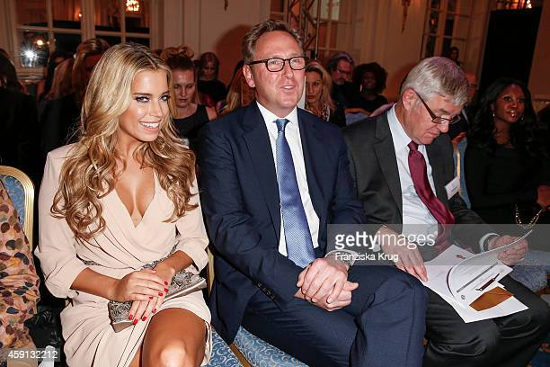 Sylvie Meis and Heinrich Deichmann attend the Deichmann Shoe Step of the Year 2014 on November 17 2014 in Hamburg Germany