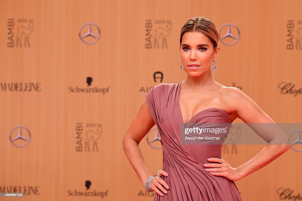 Sylvie Meis attends the Bambi Awards 2015 at Stage Theater on November 12, 2015 in Berlin, Germany.