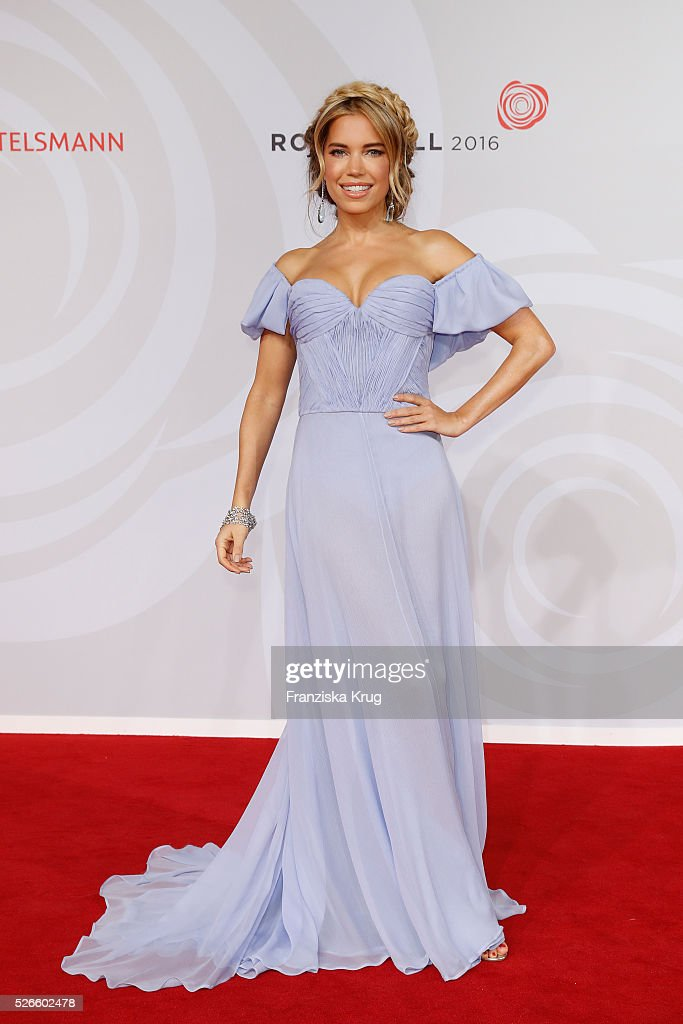 Sylvie Meis attends the Rosenball 2016 on April 30 in Berlin, Germany.