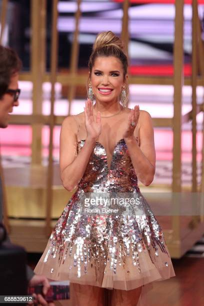 Sylvie Meis during the 10th show of the tenth season of the television competition 'Let's Dance' on May 26 2017 in Cologne Germany