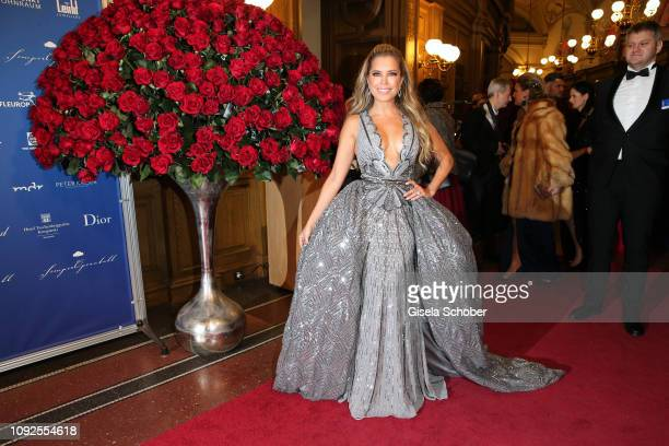 Sylvie Meis during the 14th Semper Opera Ball 2019 at Semperoper on February 1 2019 in Dresden Germany
