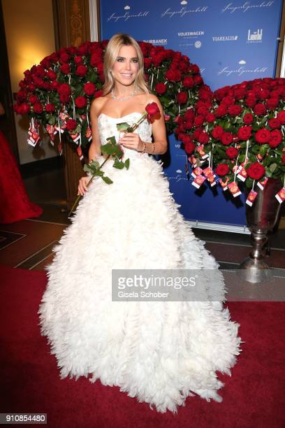 Sylvie Meis during the Semper Opera Ball 2018 at Semperoper on January 26 2018 in Dresden Germany