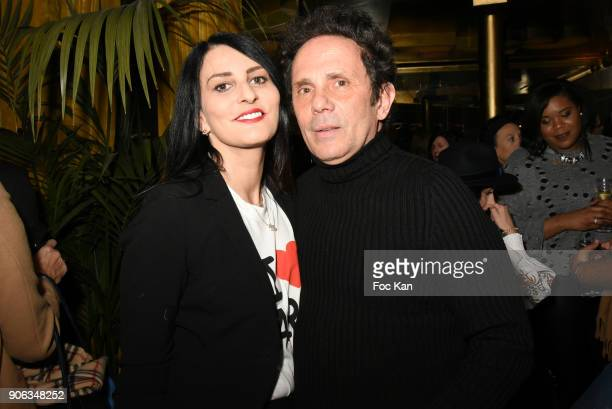 Sylvie Ortega Munos and Gerald Cohen attend Baby Brand 2018 Awards at Cafe Franais on January 17 2018 in Paris France