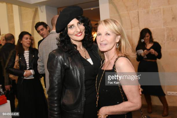 Sylvie Ortega Munos and Ruth Obadia attend the 'Bel RP' 10th Anniversary at Atelier Sevigne on April 10 2018 in Paris France