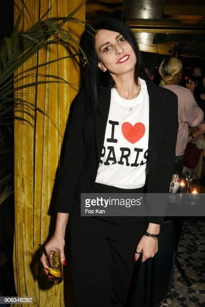 Sylvie Ortega Munos attends Baby Brand 2018 Awards at Cafe Franais on January 17 2018 in Paris France