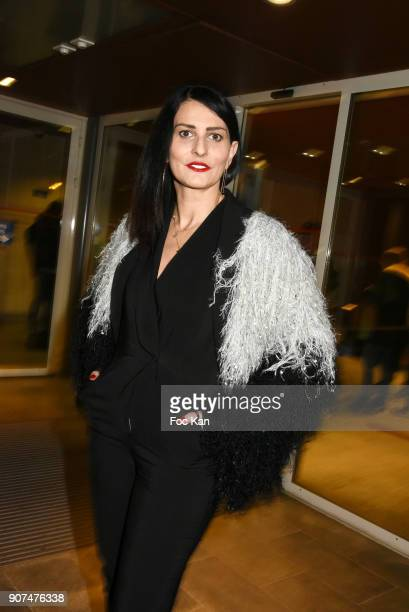 Sylvie Ortega Munos attends 'Jane' National Geographic Documentary on Jane Goodall Premiere at UNESCO on January 19 2018 in Paris France