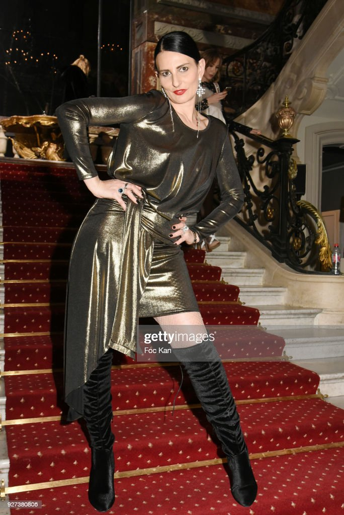 Sylvie Ortega Munos attends the John Galliano show as part of the Paris Fashion Week Womenswear Fall/Winter 2018/2019 on March 4, 2018 in Paris, France.