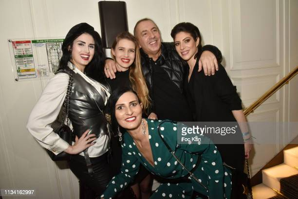 Sylvie Ortega Munos Elsa Oesinger Carole Duchene Jean Pierre Morandini and Celine Mori attend 'Femmes Fatales ' Mathieu Alterman Book Launch Party at...