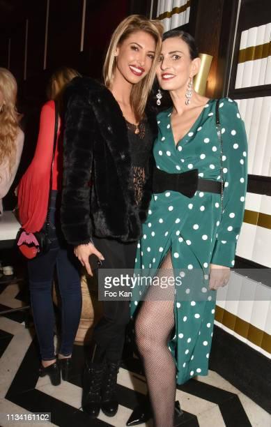 Sylvie Ortega Munos Stefanie Renoma Elsa Oesinger Mathieu Alterman Celine Mori and Melanie Dedigama attend 'Femmes Fatales ' Mathieu Alterman Book...