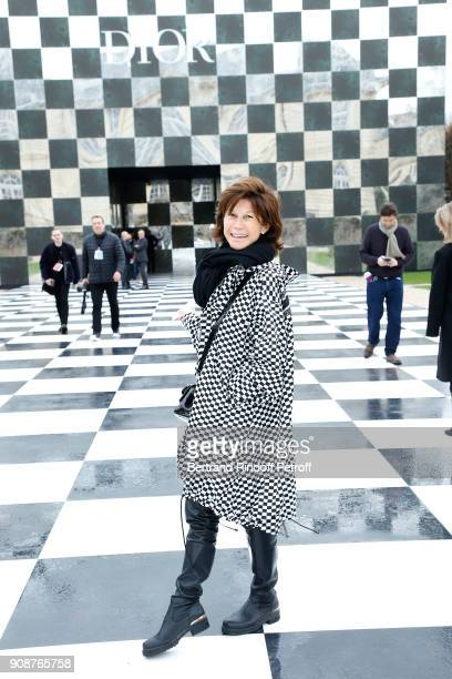 Sylvie Rousseau attends the Christian Dior Haute Couture Spring Summer 2018 show as part of Paris Fashion Week on January 22 2018 in Paris France
