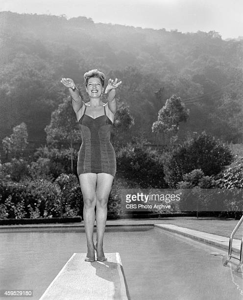 Sylvie St Clair at her Hollywood California home Image dated August 7 1952