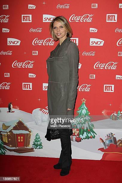 Sylvie Tellier attends the 'Association Petits Princes' And Coca Cola Red Train Launch at Gare de L'Est on December 15 2011 in Paris France