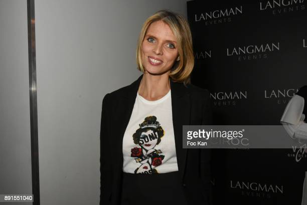 Sylvie Tellier from Miss France Comitee attends the Star Wars Party at Le Saint Fiacre on December 12 2017 in Paris France