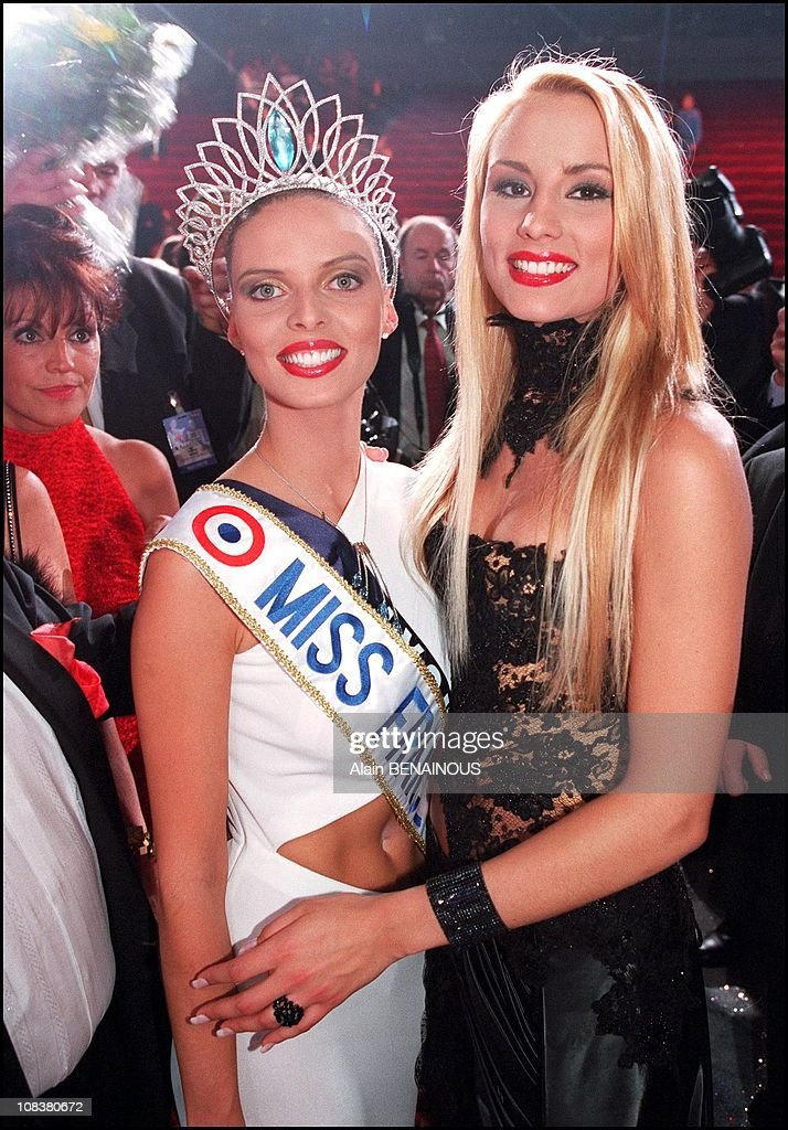 Sylvie Tellier Miss France 2002 And Elodie Gossuin Miss France 2001 News Photo Getty Images