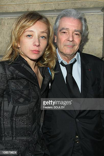 Sylvie Testud and Pierre Ardit in Paris France on March 31 2009